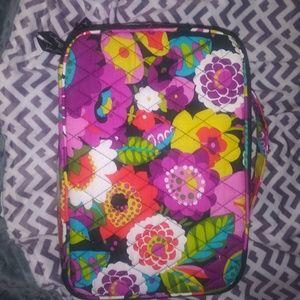Vera Bradley rote and cosmetic bag